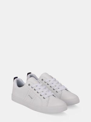 Tommy Hilfiger Women's Logo Tape Sneaker White - 10