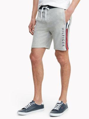Tommy Hilfiger Men's Essential Logo Sweatshort Sport Grey Heather - S