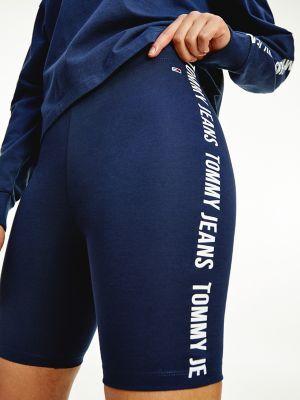 Tommy Hilfiger Women's Solid Bike Short Twilight Navy - XXS