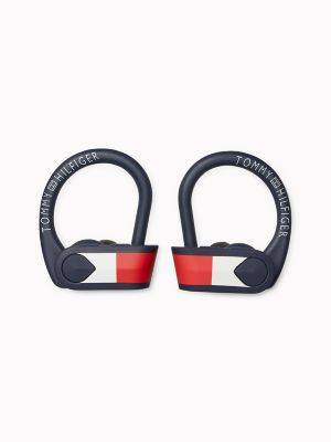 Tommy Hilfiger Women's Wireless Sport Earbuds Navy -