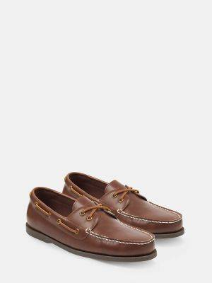 Tommy Hilfiger Men's Classic Loafer Cognac/Brown - 7