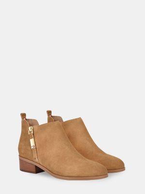 Tommy Hilfiger Women's Zip Ankle Boot Light Tan - 7.5