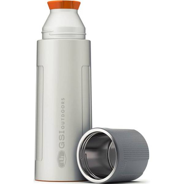GSI Outdoors Glacier Stainless Vacuum Bottle - 1 Liter Stainless