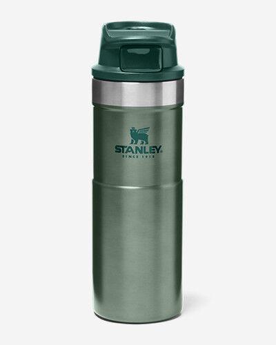 Eddie Bauer Stanley Trigger-Action Travel Mug - 16 Oz.  - Green - Size: One Size