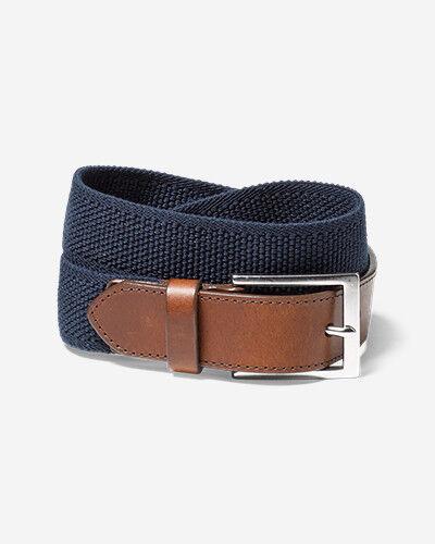 Eddie Bauer Men's Legend Flex Belt  - Dusted Indigo - Size: 40