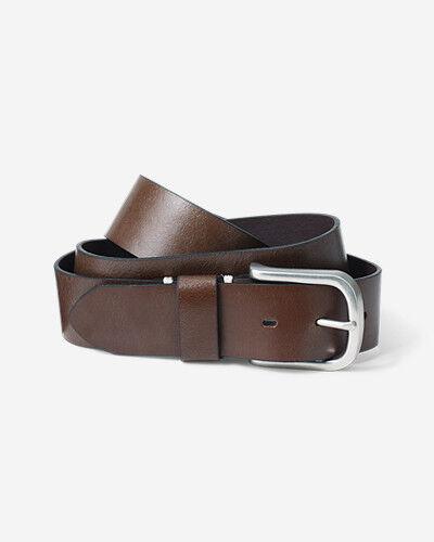 Eddie Bauer Men's Everyday Leather Belt  - Oak - Size: 44
