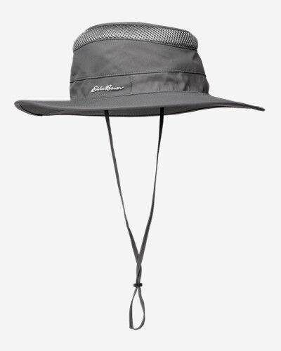 Eddie Bauer TrailCool UPF Adventurer Hat  - Dk Smoke - Size: Small