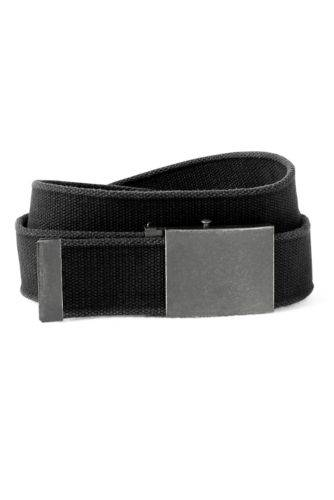 Eddie Bauer Men's Web Belt  - Black - Size: 34