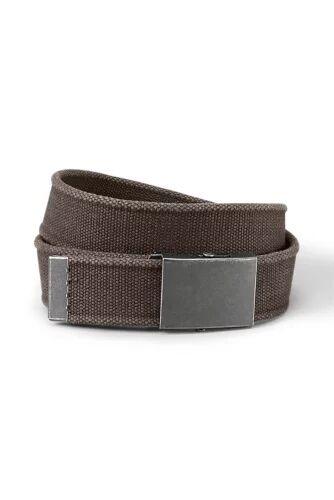 Eddie Bauer Men's Web Belt  - Fossil - Size: 38