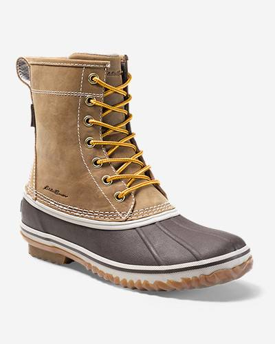 Eddie Bauer Women's Hunt 8 Inch  Pac Boot  - Wheat - Size: 7M