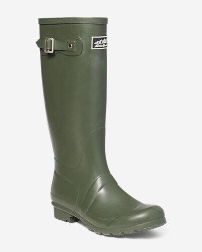 Eddie Bauer Women's Rain Pac Boot  - Dk Loden - Size: 10M