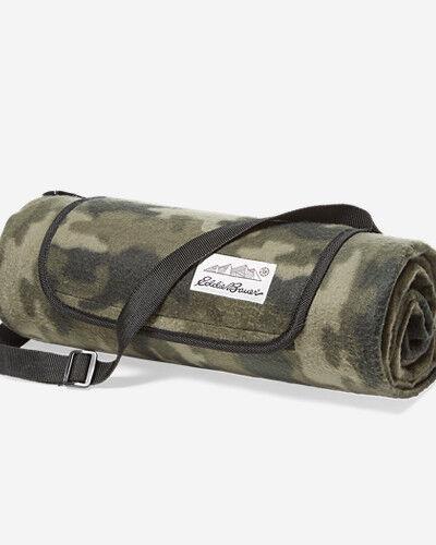Eddie Bauer Outdoor Camp Blanket  - Camo - Size: One Size