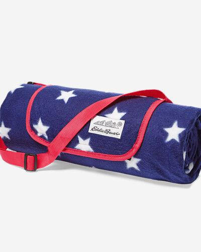 Eddie Bauer Outdoor Camp Blanket  - Med Indigo - Size: One Size