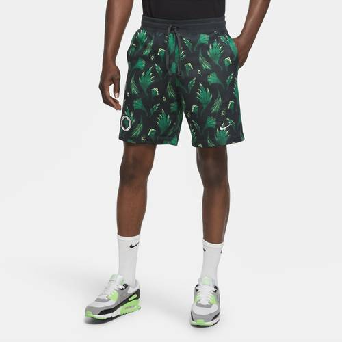 Nike Mens Nike Just Do It Alumni Shorts - Mens Green/White Size M