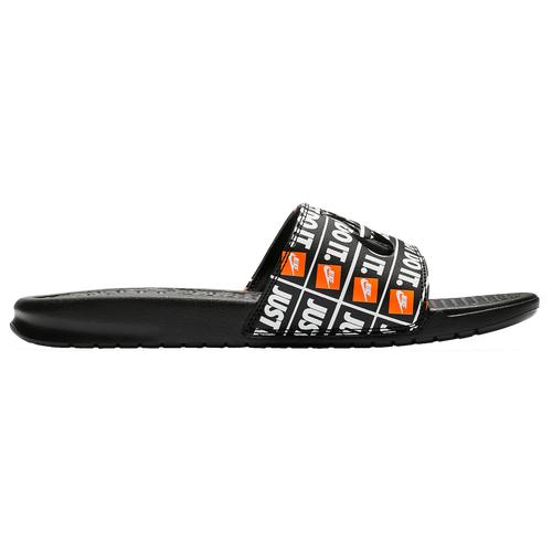 Nike Womens Nike Benassi JDI Slide - Womens Shoes Black/Black Size 09.0