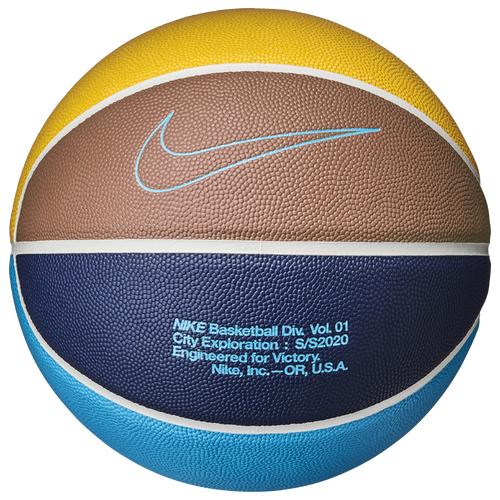 Nike City Experience Baskeball Blue/Yellow