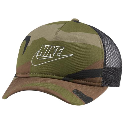 Nike Mens Nike Classic99 Camo Trucker Cap - Mens Brown/Green Size One Size
