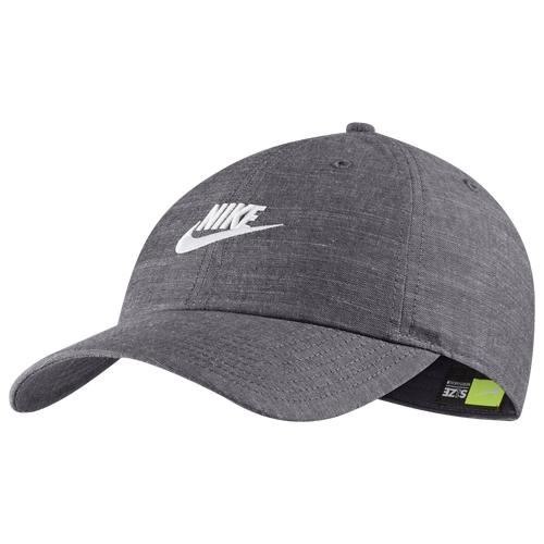 Nike Mens Nike H86 Futura Cap - Mens Grey/White Size One Size
