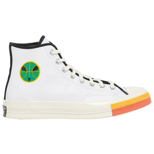 Converse Mens Converse x Roswell Rayguns Chuck 70 Hi - Mens Basketball Shoes White/University Gold Size 11.0