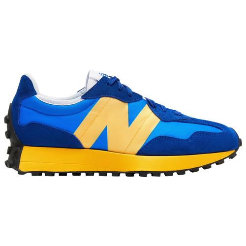 New Balance Mens New Balance 327 - Mens Shoes Blue/Yellow Size 08.5