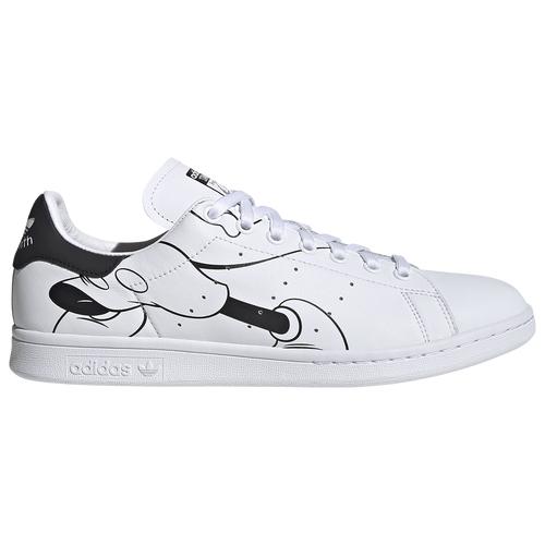 adidas Originals Mens adidas Originals Mickey Mouse Stan Smith - Mens Shoes White/Black Size 11.0