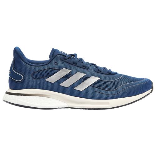 adidas Mens adidas Supernova - Mens Running Shoes Collegiate Navy/Silver Metallic/Core Black Size 14.0