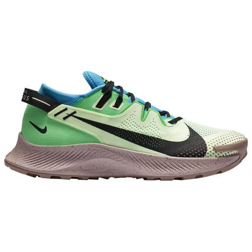 Nike Mens Nike Pegasus Trail 2 - Mens Running Shoes Barely Volt/Black/Laser Blue Size 10.5