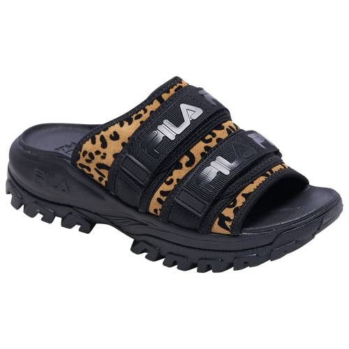 Fila Womens Fila Outdoor Slide - Womens Shoes Black/Multi Size 06.0