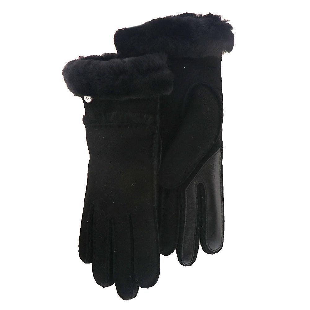 UGG® Women's Seamed Tech Glove - Black; Size: S