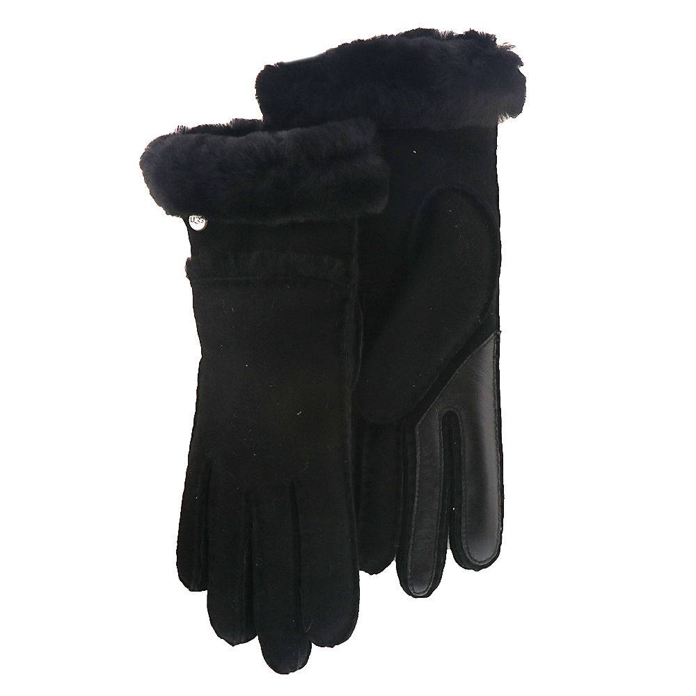 UGG® Women's Seamed Tech Glove - Black; Size: L