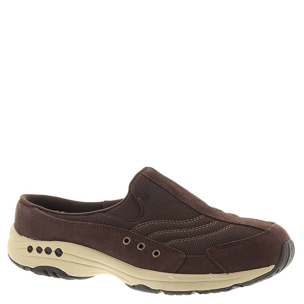 Easy Spirit Travel Time (Women's) - Dark Brown/Suede; Size: 7