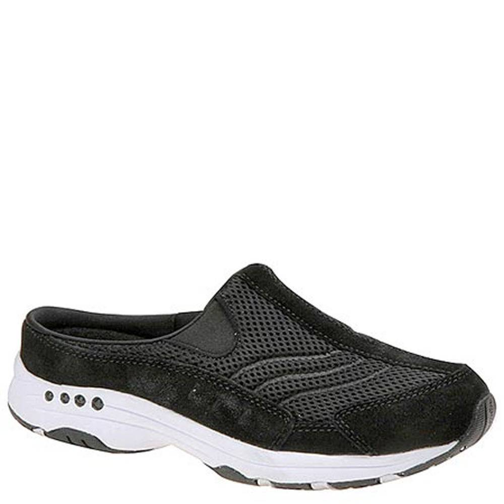 Easy Spirit Travel Time (Women's) - Black/Black/Suede; Size: 8.5