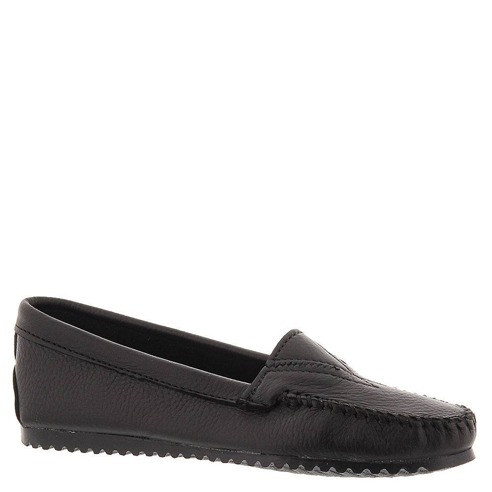 Minnetonka Women's Butter Moccasin - Black; Size: 8.5