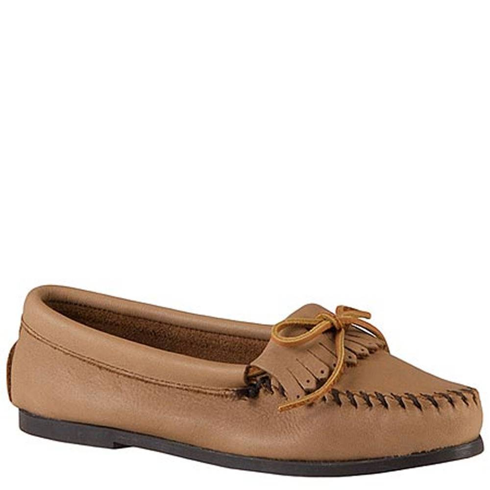 Minnetonka Women's Butter Kiltie Moccasin - Brown/Mocha; Size: 9.5