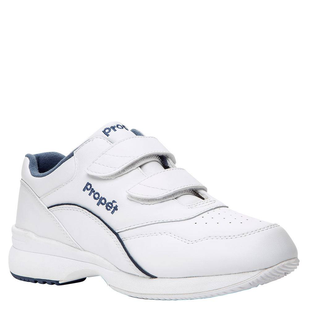 Propet Tour Walker Strap (Women's) - White/Blue; Size: 11