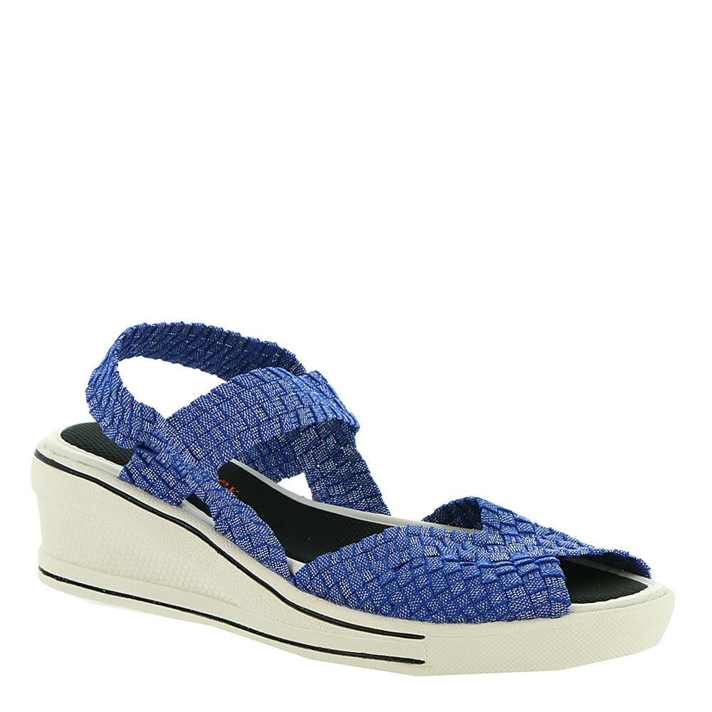 Bernie Mev Lux Garden (Women's) - Blue/Shimmer; Size: Euro 39 US 8.5 - 9