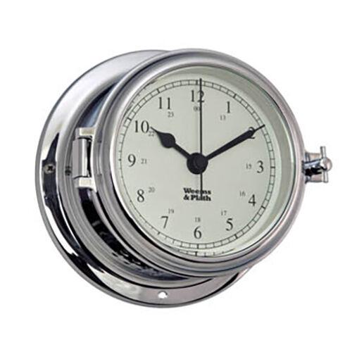 Weems & Plath Chrome Endurance II 115 Quartz Clock