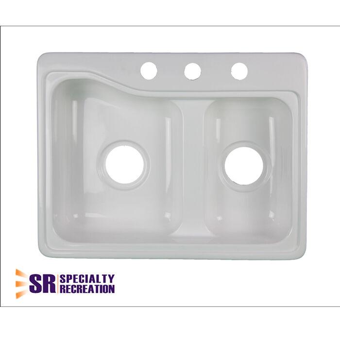 Specialty Recreation Inc Kitchen Sink, White