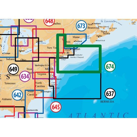 Navionics Platinum+ Map, Boston/New York - SD Cartridge