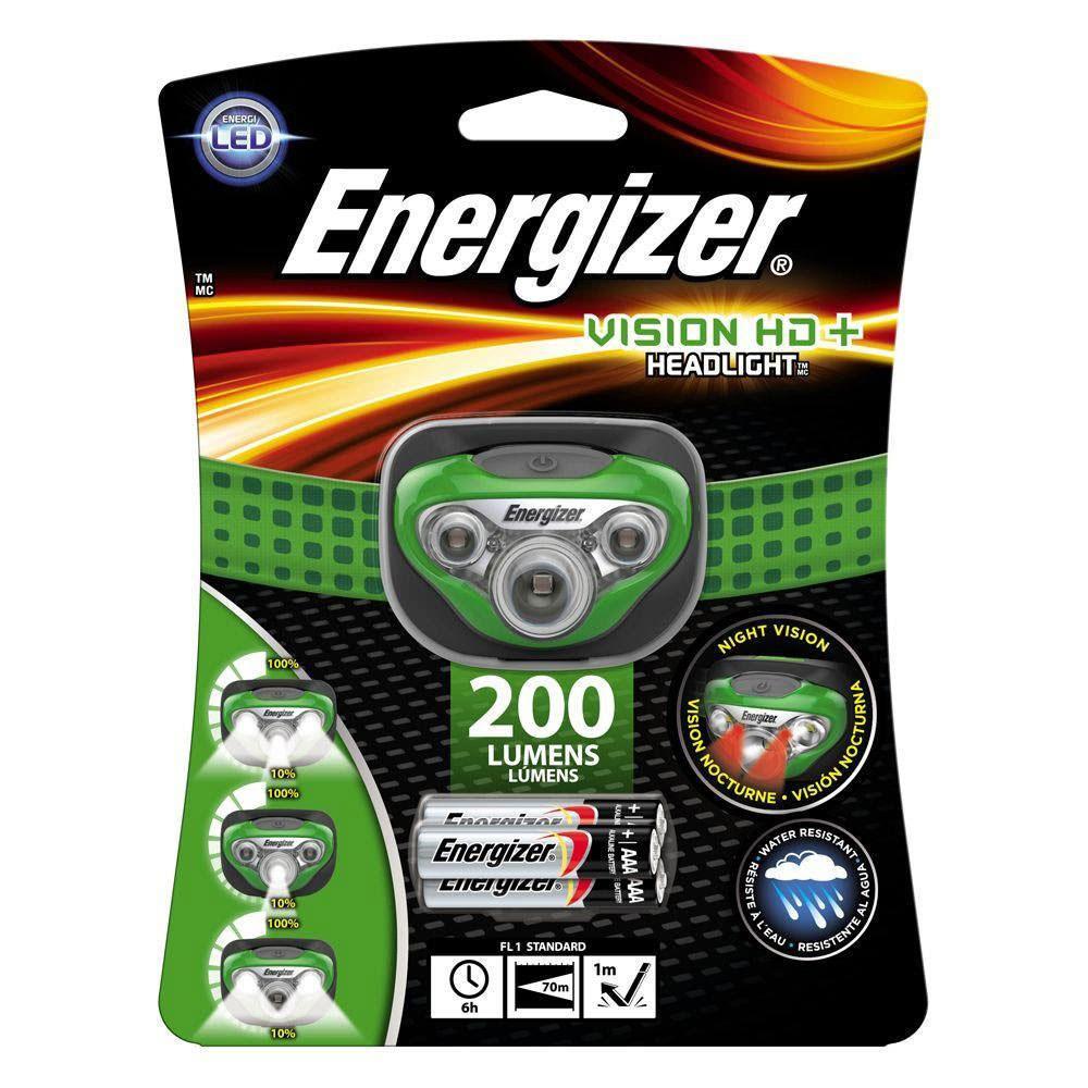 Energizer HD + LED Headlight, Green
