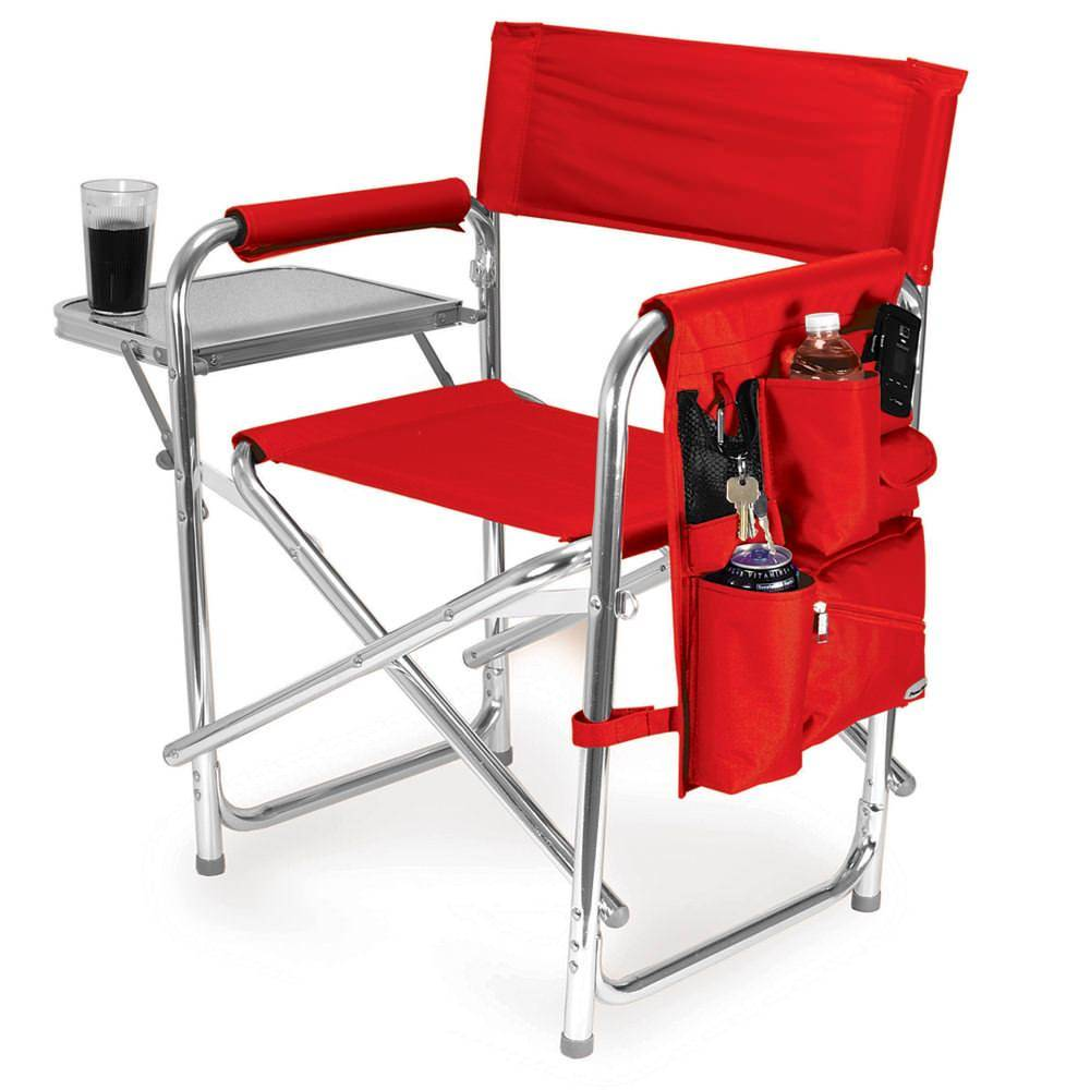 Picnic Time Sports Chair, Red