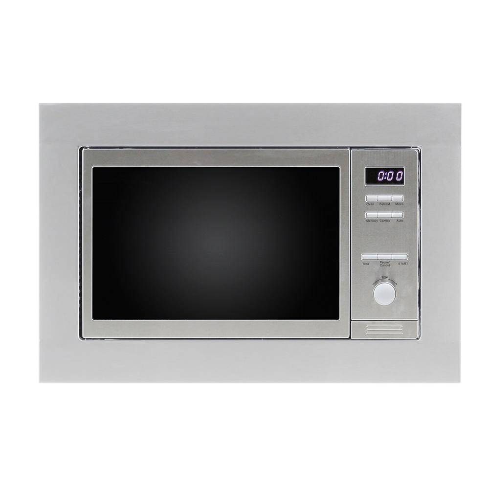 Equator Advanced Appliances 0.8 Cu. Ft. Built-in Combo Microwave Oven with Auto Cook and Memory Function