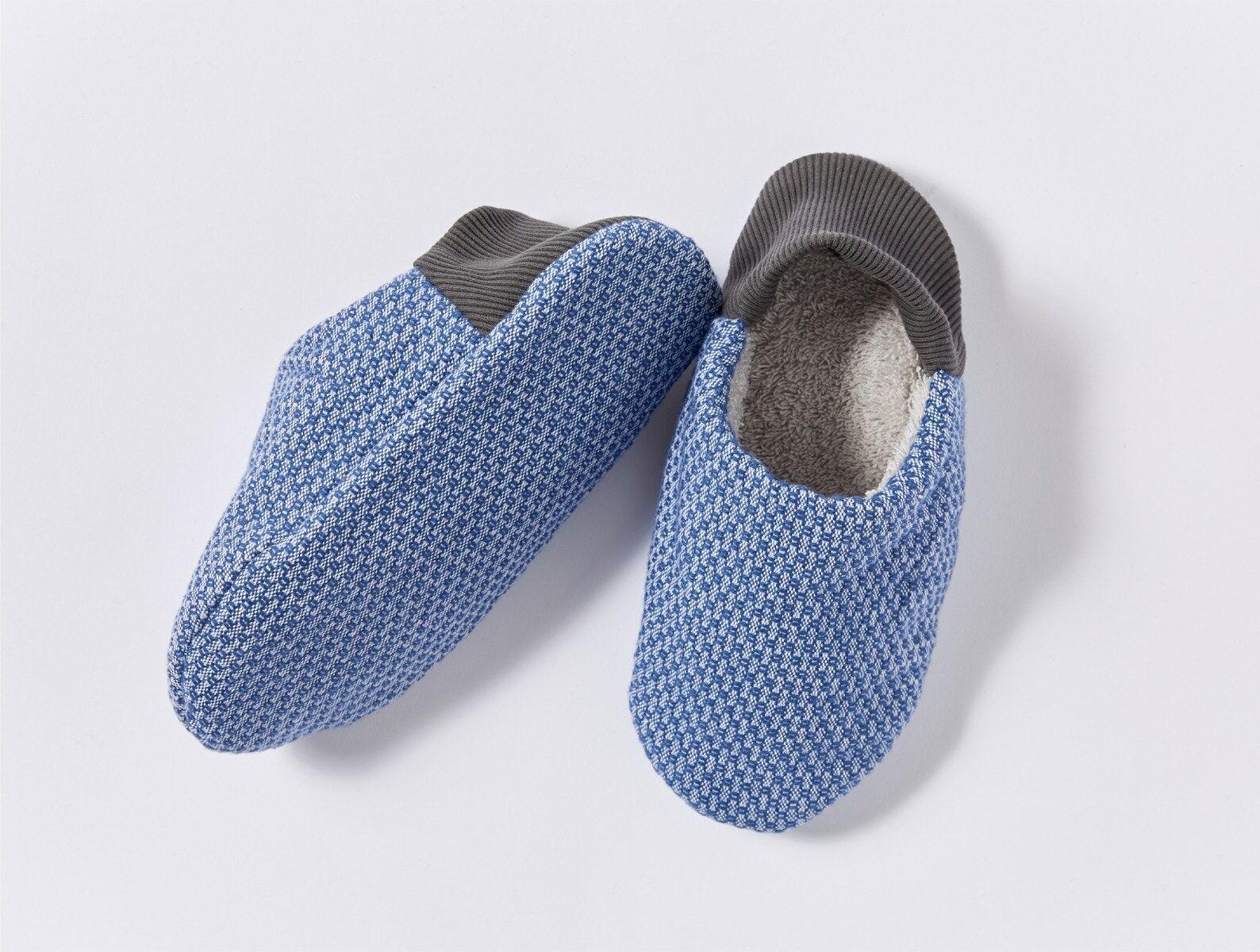 Coyuchi   Women's Mediterranean Organic Room Shoes Medium Lake