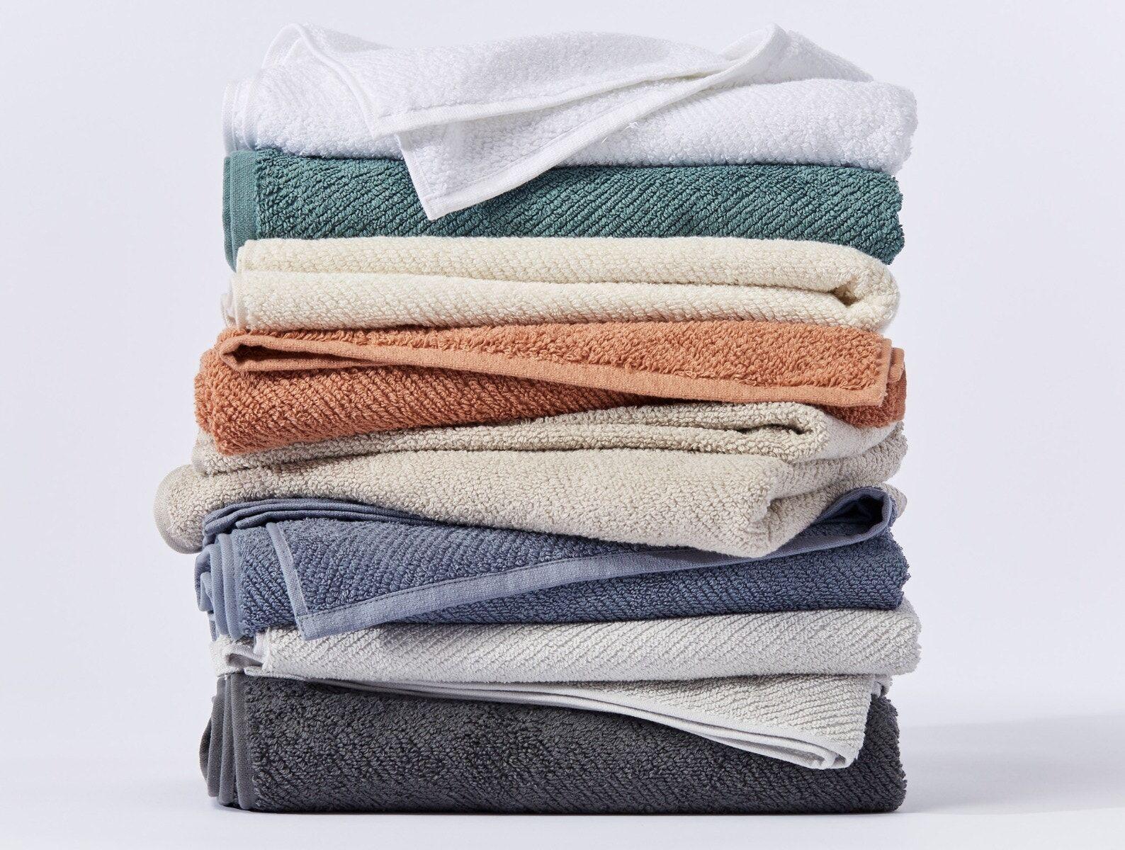 Coyuchi   Air Weight Organic Bath Towel Set/4 Dune