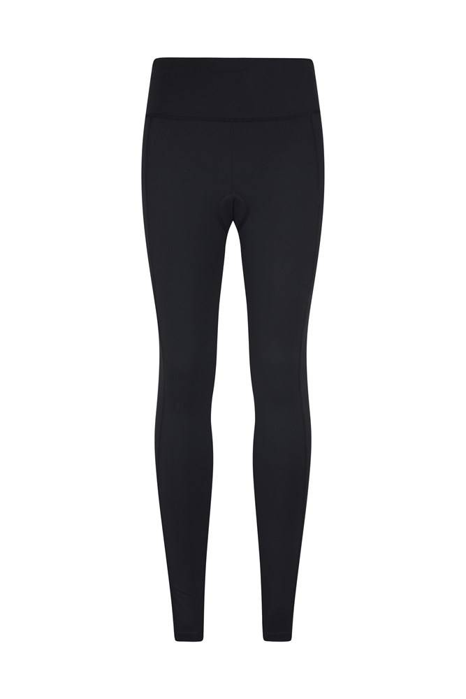 Mountain Warehouse Speed Up Womens Cycling Tights - Black  - Size: 2