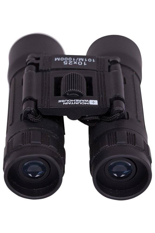Mountain Warehouse Binoculars - 10 x 25mm - Black  - Size: ONE