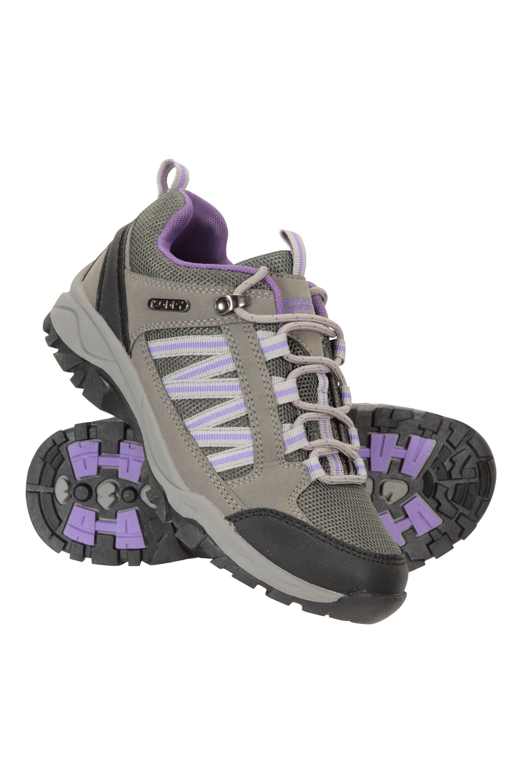 Mountain Warehouse Path Waterproof Womens Walking Shoes - Grey  - Size: 7