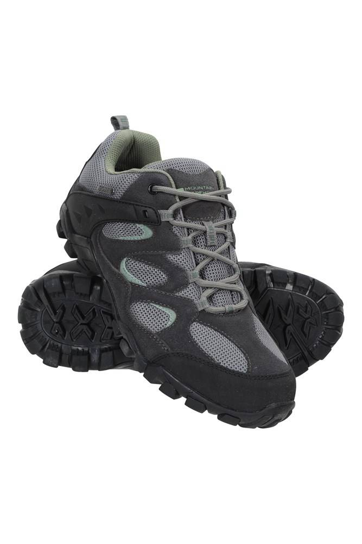 Mountain Warehouse Curlews Womens Waterproof Shoes - Green  - Size: 8