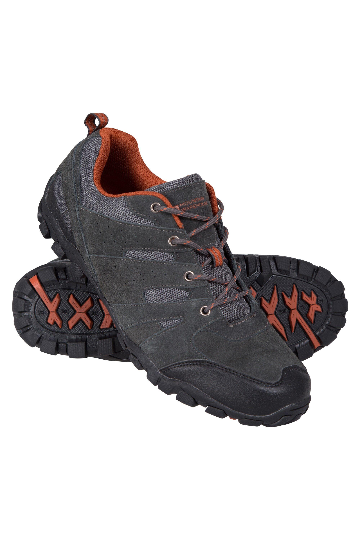 Mountain Warehouse Outdoor Mens Walking Shoes - Grey  - Size: 13