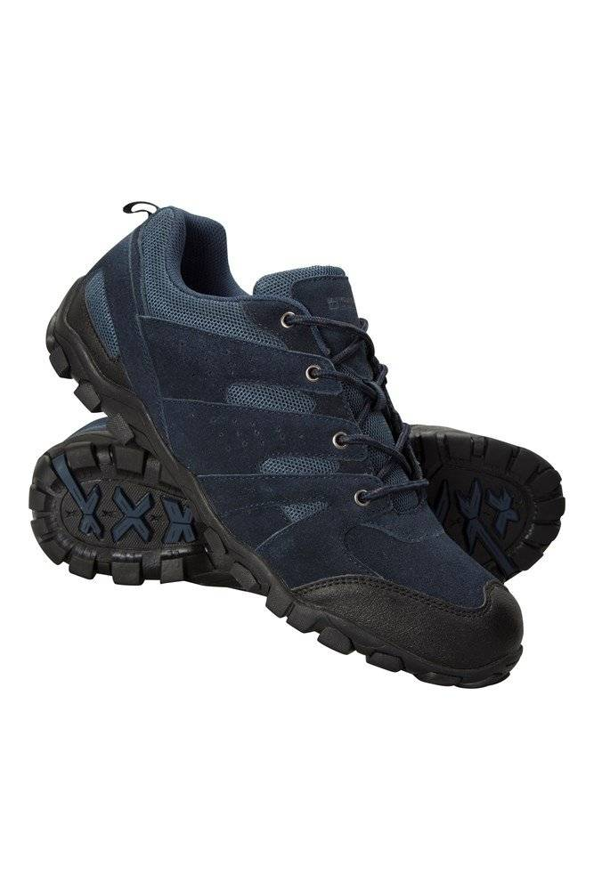 Mountain Warehouse Outdoor Mens Walking Shoes - Navy  - Size: 9